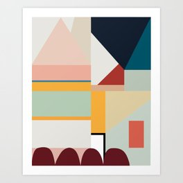 modern abstract II Art Print