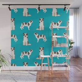 Border Collie dog breed gifts collies herding dogs pet friendly Wall Mural
