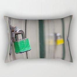 Padlocks Rectangular Pillow