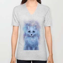 Arctic Fox Unisex V-Neck