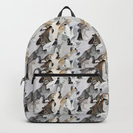 Wolves Howling Backpack