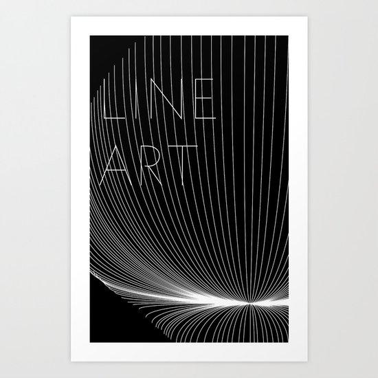Line Art Art Print