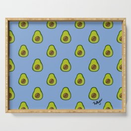 An Infinity of Avocados Serving Tray