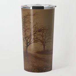 Three Dark Trees Travel Mug