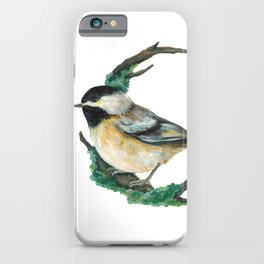 Winter Bird iPhone Case