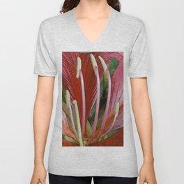 Floral Centerpiece Unisex V-Neck