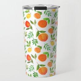 Orange garden Travel Mug