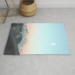 Mountains Landscape Rug
