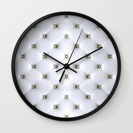 Chester fabric Wall Clock