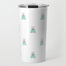 Blue Moth Travel Mug