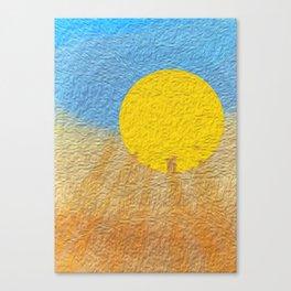 Heat Canvas Print