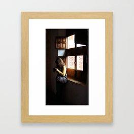 Luz Framed Art Print