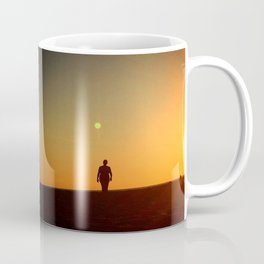 First Moonrise on Tatooine Coffee Mug