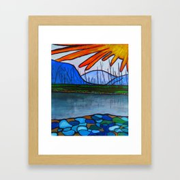Kettle Valley Watershed Framed Art Print