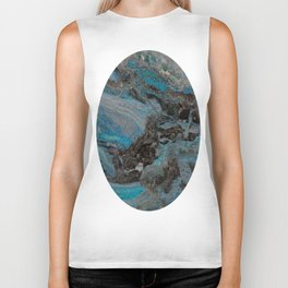 Marble, it is cool, aloof and especially elegant Biker Tank