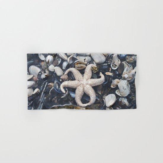 Starfish and Shells Hand & Bath Towel
