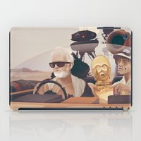 reading iPad Cases featuring Fear and Loathing on Tatooine by Anton Marrast