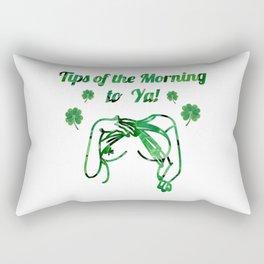 Tips of the Mornin to Ya! Rectangular Pillow