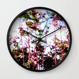 Everglades Noise Wall Clock