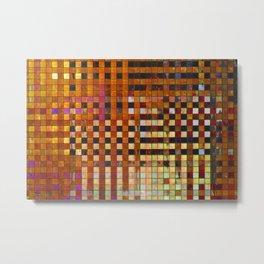 Checkered Reflections I Metal Print