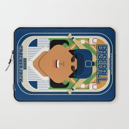 Baseball Blue Pinstripes - Deuce Crackerjack - Indie version Laptop Sleeve