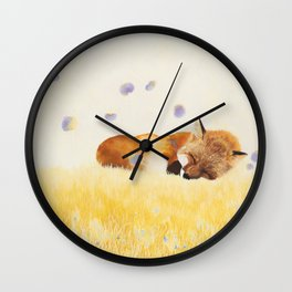 Sienna: An Oasis In My Mind Wall Clock