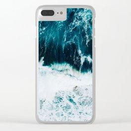 Ocean Blues II Clear iPhone Case