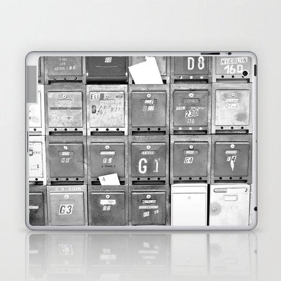 Mailboxes II Laptop & iPad Skin