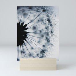 dandelion blue XV Mini Art Print