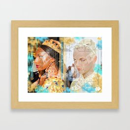 Baroke Framed Art Print