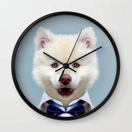 Fashion dog Wall Clock
