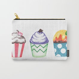 dot cupcakes (pointillism) Carry-All Pouch