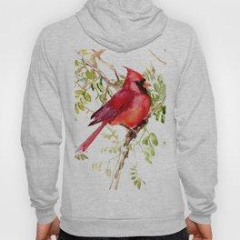 Northern Cardinal, cardinal bird lover gift Hoody