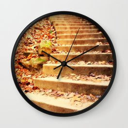 Enchanted Staircase Wall Clock