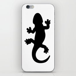 Black Lizard iPhone Skin