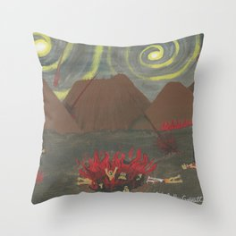 Hell Throw Pillow