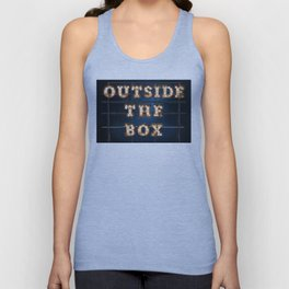 Outside the Box - Wall-Art for Hotel-Rooms Unisex Tank Top