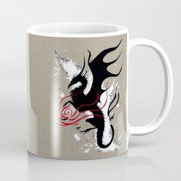 BLACK DRAGON RIBBONS Coffee Mug