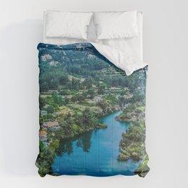 Dreamy view at Saittas Trimiklini Comforters