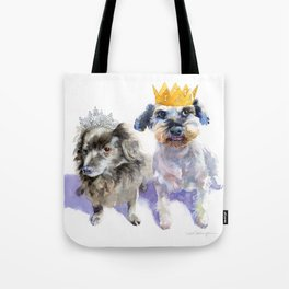 Canine Royalty Tote Bag