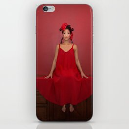 Red doll iPhone Skin