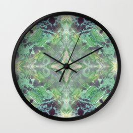 Abstract Texture Wall Clock