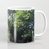 college Mugs featuring Chapel, Wellesley College by JezRebelle