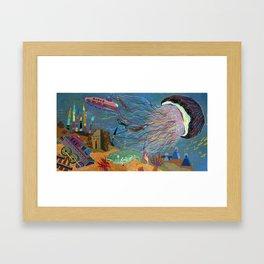 Divers Framed Art Print