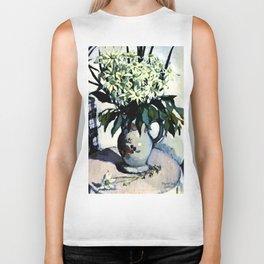 """""""Flannel Flowers"""" by Australin Margaret Preston Biker Tank"""