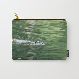 Beaver on an Evening Swim Carry-All Pouch