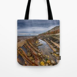 Hunstanton shipwreck Tote Bag