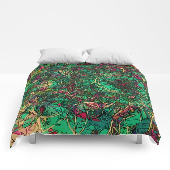 Galactic Dawn Comforters
