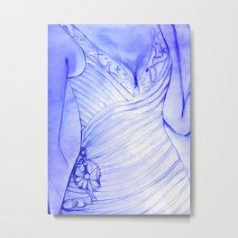 The Wedding Dress Metal Print