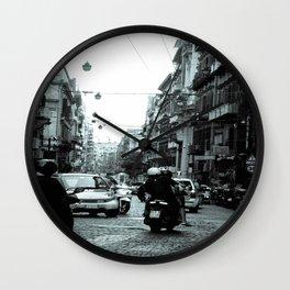 Naples, Spanish Quarter 1 Wall Clock